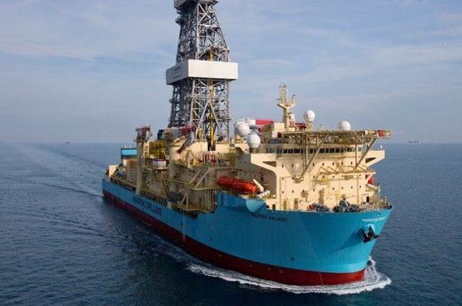 maersk valiant acordo mexico perfuração