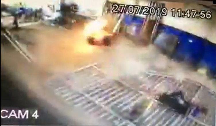 Acidente Serralheiro explosão Bahia Sergipe
