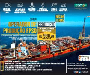 Operador de Produção FPSO - Promoção Julho - site Clickpetroleoegas 336x280px