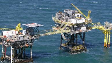 Plataformas Golfo do México Offshore Tempestade