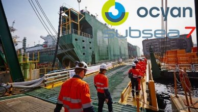 Rio de Janeiro offshore Ocyan, Subsea7