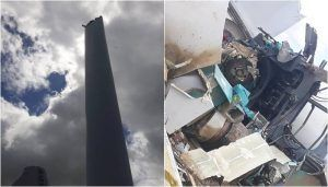 Torre eólica Pernambuco acidente