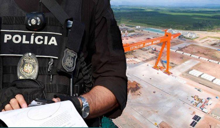 estaleiro eja jurong Petrobras Lava Jato espirito santo