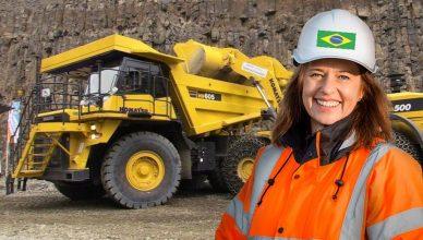komatsu brasil vagas manutenção mineração