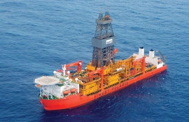Resultado de imagem para navio-sonda West Polaris