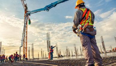 300 empregos na área de construção civil