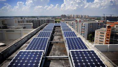 Cingapura energia solar joint venture