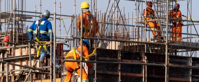 Construção Civil São Paulo Bauru obras empregos