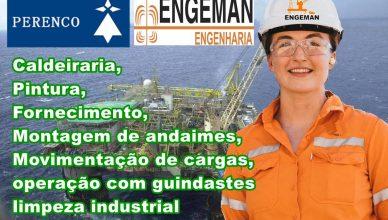 Perenco Engeman Offshore Contrato Macaé Bacia Campos