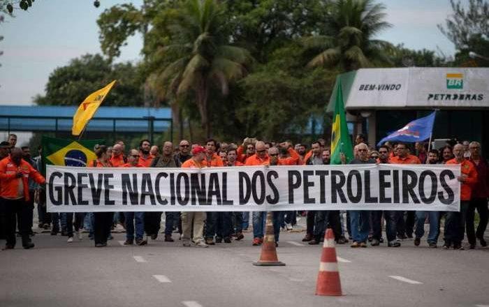 Petroleiros preparam greve