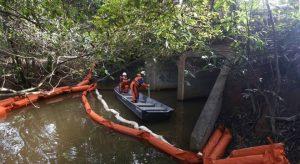 Vazamento Refinaria Abreu e Lima da Petrobras