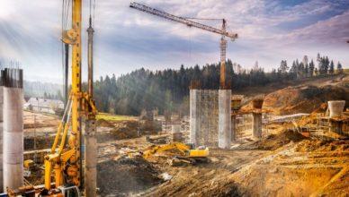 Obra de construção vaga alojamento emprego