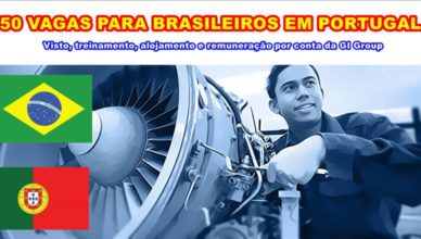 Portugal Empregos Brasileiro vagas visto