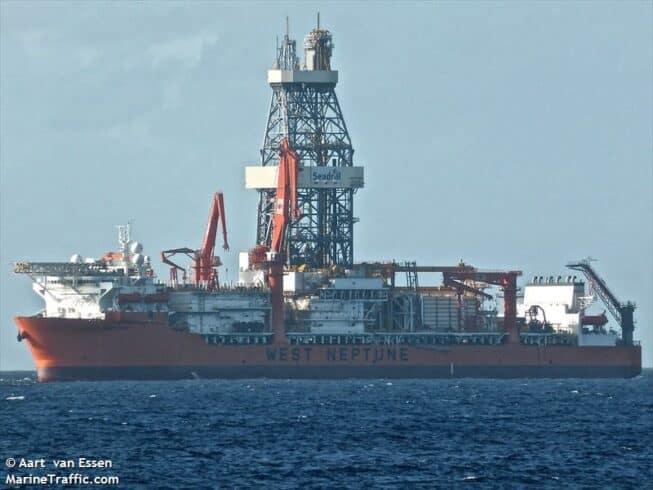 Seadrill West Neptune contrato