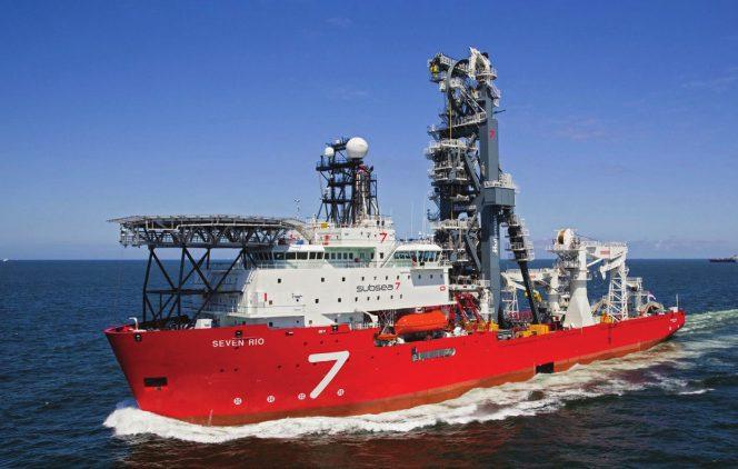 Subsea 7 contrato total Rio de Janeiro