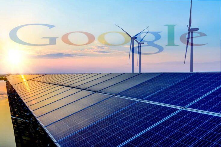 ENERGIA RENOVAVEL GOOGLE INVESTIMENTO