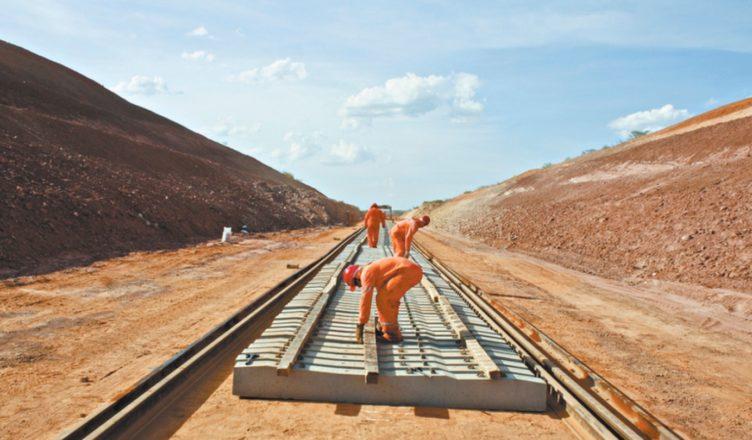CSN obras ferrovia Transnordestina