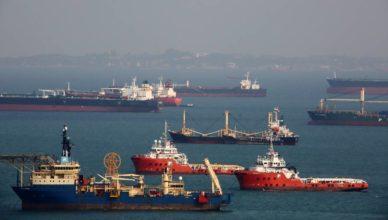 marítimos offshore Brasil frota empregos visto setembro