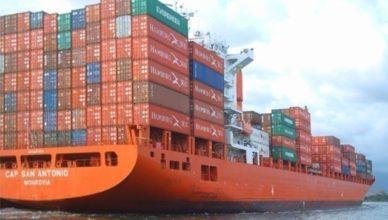 navios vagas marítimos