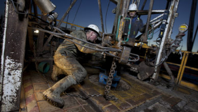 Vagas offshore ICM