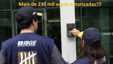 Concurso IBGE vagas de emprego