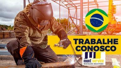 emprego obras de construção Montservice