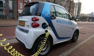 Carro elétrico e a comparação