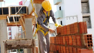 vagas de emprego obras em construção