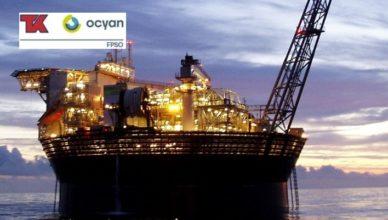 TK Ocyan com vagas de emprego offshore FPSO na Bacia de Santos