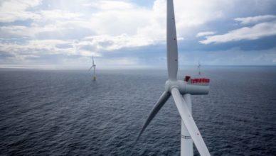 Parque eólico offshore Aker Solutions Coréia