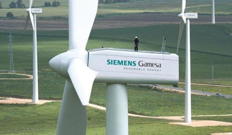 Siemens contrato eólico turbina emprego