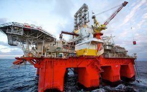Transocean petróleo offshore plataforma