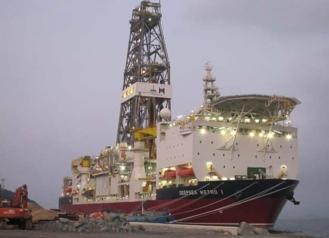 Vagas offshore Mexico Angola