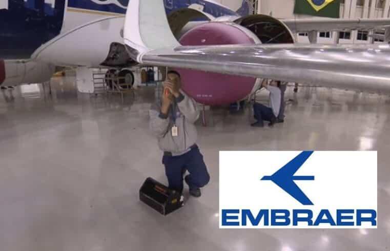 emprego estágio jovem aprendiz Embraer