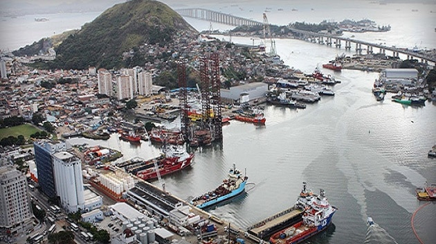 Niterói indústria naval petroleo