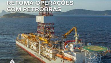 navio sonda aguna Star Constellation Petrobras
