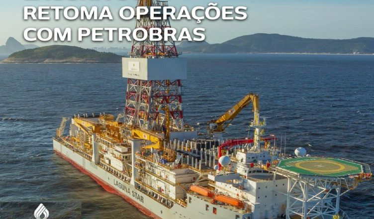 navio sonda aguna Star Constellation Petrobras