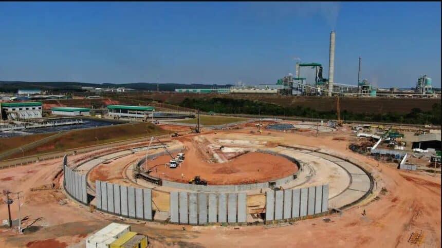 Companhia brasileira Kablin obras construção civil empregos