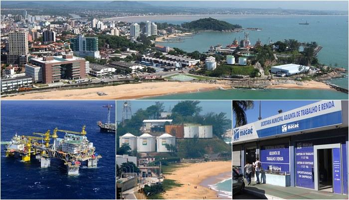Macaé emprego renda offshore trabalho petróleo