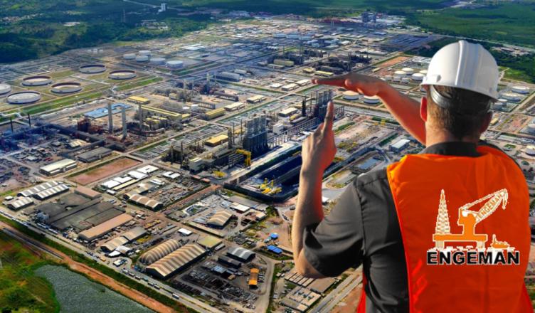 Pernambuco Engeman emprego refinaria RNEST obras