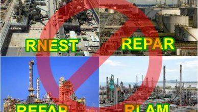 Petrobras REFINARIA RNEST RLAM REPAR REFAP