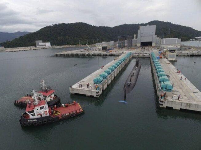 Rio de Janeiro os testes submarino PROSUB