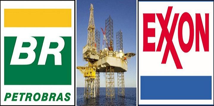 Petrobras leilão pré-sal Exxon petróleo