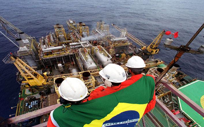 Petrobras exploração e produção de petróleo