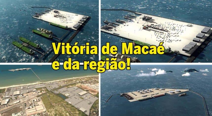 18 mil vagas de emprego porto Macaé