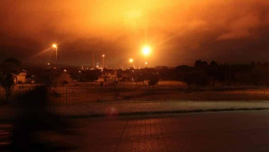 explosões em Refinaria Presidente Getúlio Vargas (Repar) da Petrobras