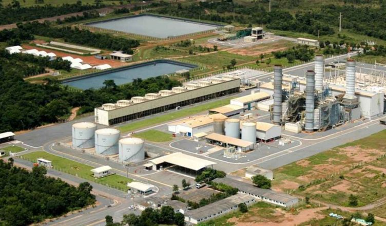 usina termelétrica, Pampa Sul