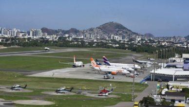 Aeroporto de Macaé Vitória Farol de São Tomé Petrobras