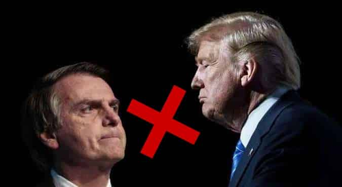 Bolsonaro Trump aço alumínio taxa