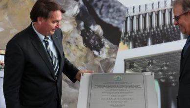 Bolsonaro urânio usina nuclear Angra 3